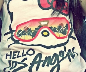 hello kitty, fashion, and los angeles image