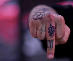 bad, snake, and tattoo image