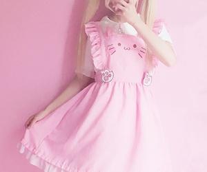 kawaii, pink, and pastel image