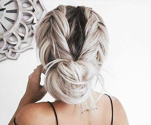blondes, girls, and braid image