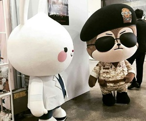 dots and descendants of the sun image