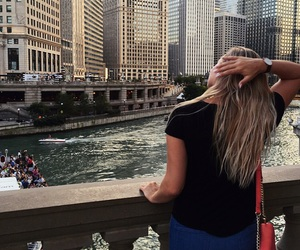 blonde, chicago, and city image