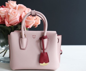rose, bag, and fashion image