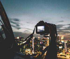 city, camera, and photography image
