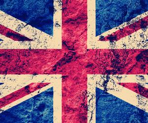 flag, england, and british image