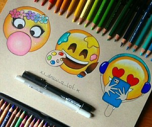 emoji, art, and emojis image