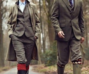 boots, british, and tweed image