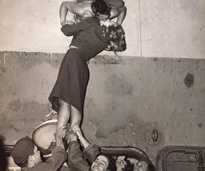 couple, romance, and old image