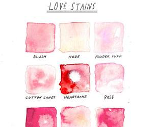 pink, art, and love image