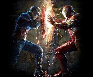 civil war, iron man, and Marvel image