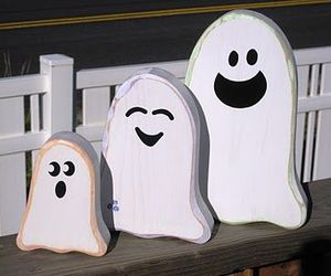 family, ghosts, and Halloween image