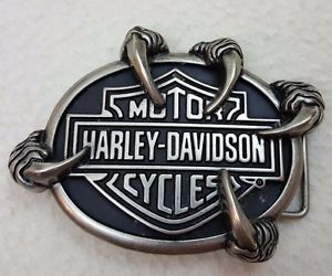 belt buckle, harley davidson, and motorcycle image