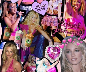 90s, britney spears, and Collage image