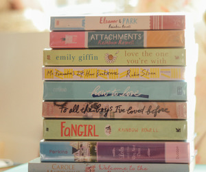 book, attachment, and fangirl image