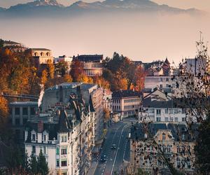 city, travel, and switzerland image