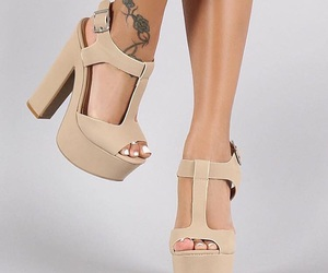 heels, shoes, and tacones  image