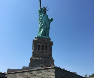 2016, new york, and statue of liberty image