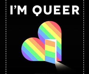 pride, national coming out day, and queer image