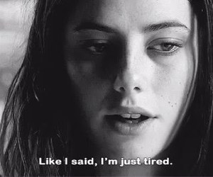 depression, effy stonem, and sadness image