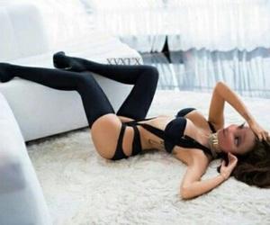 girl, sexy, and heels image