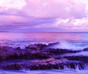 purple and waves image
