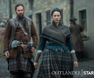 outlander, claire fraser, and murtagh fraser image