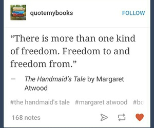 book, quote, and margaret atwood image