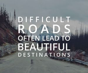 quotes, roads, and destination image
