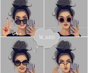 girly_m and glasses image