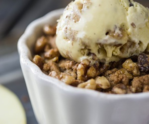 almond, apple, and ice cream image