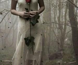 dark, girl, and supernatural image