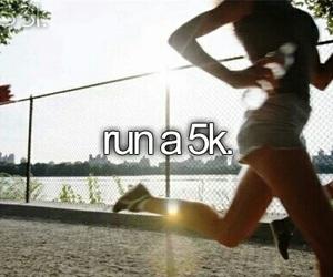 run, before i die, and running image