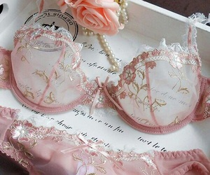 body, glamour, and lingerie image