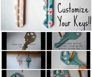 diy, key, and tutorial image