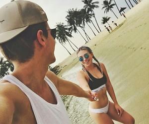 beach, Calvin Klein, and summer image