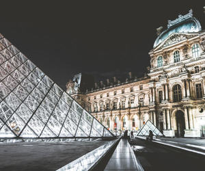 france, louvre, and paris image