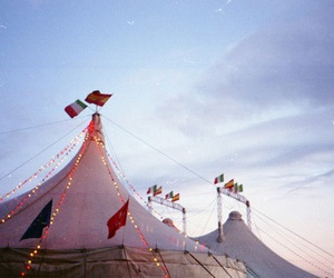 circus, sky, and tent image