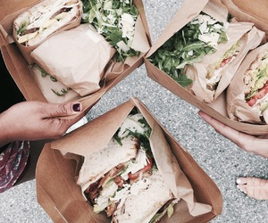 food and sandwiches image