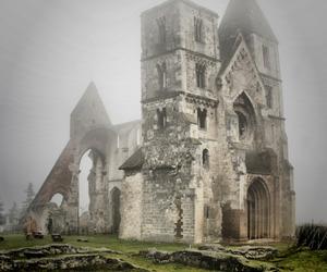 abandoned, church, and hungary image