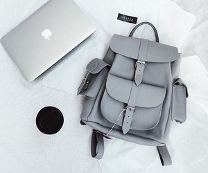 fashion, grey, and apple image