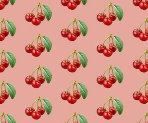 cherry and pattern image