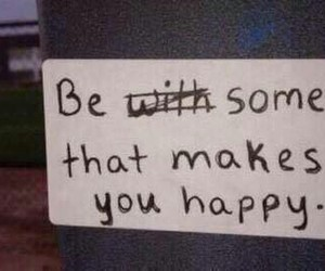 quote, happy, and someone image
