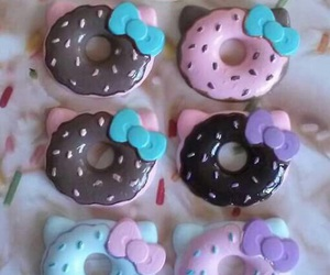 art, donuts, and fimo image
