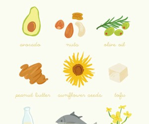food, healthy, and fat image