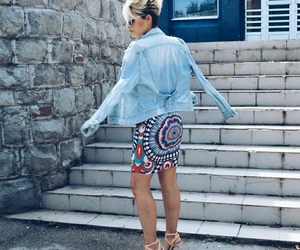 body, short hair, and style image