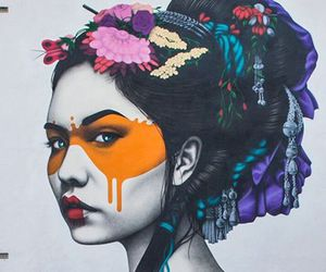 colors, creative, and girl image