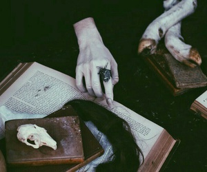 witch, witchcraft, and books image