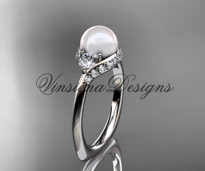 etsy, diamond rings, and vintage rings image