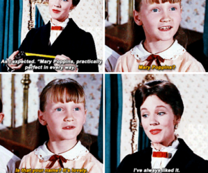60s, julie andrews, and Mary Poppins image
