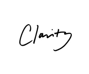 clarity, text, and quotes image